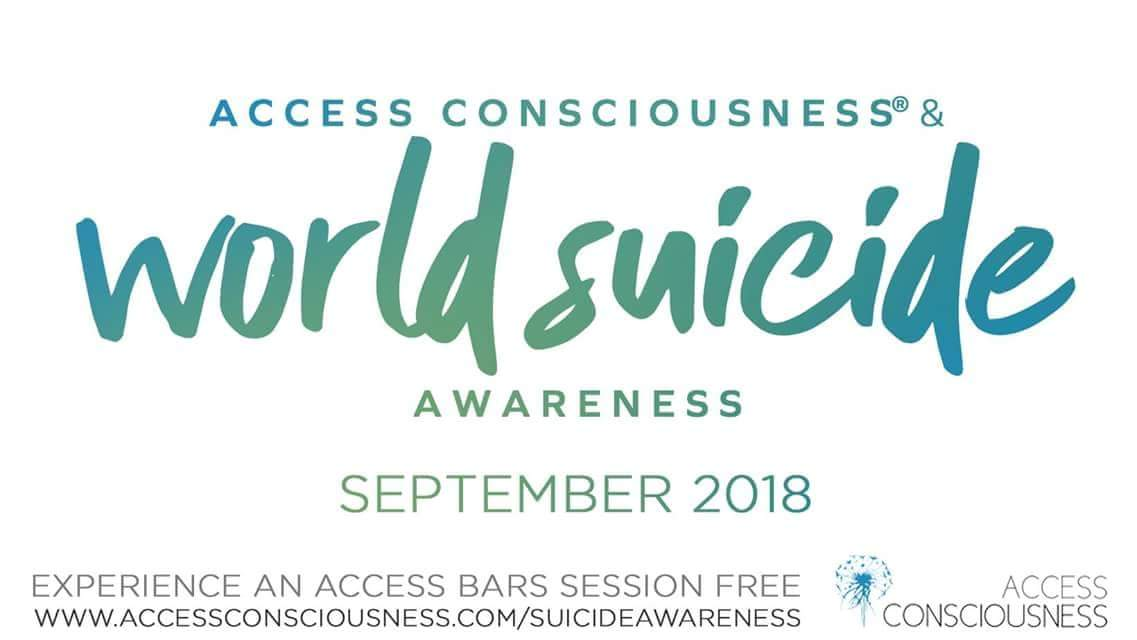 Access Bars®Practitioners Throw Open Doors for Suicide Prevention Day