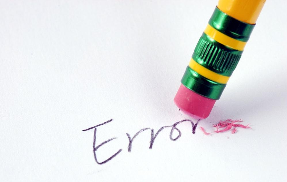 No Error....No Excellence!!