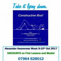 Alexander Awareness Week 9-15th October