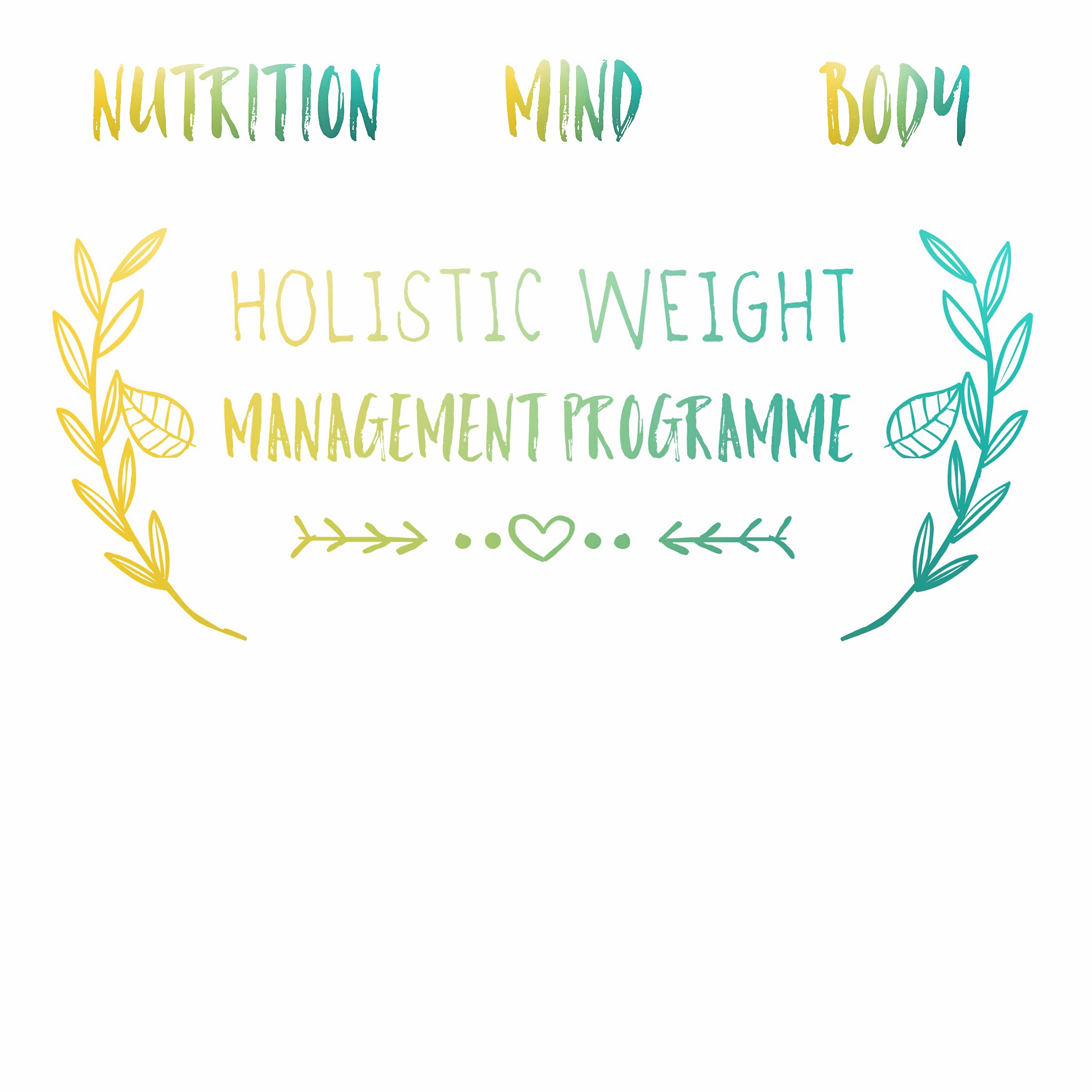 NEW Holistic Weight Management Programme