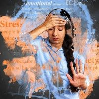 Stress can cause disease ............