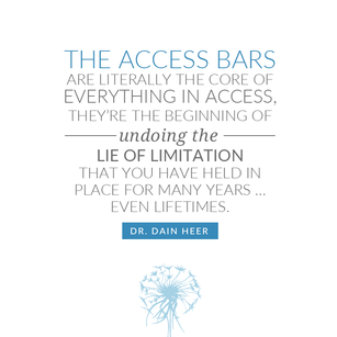 Dr Dain Heer - Access Bars Quote