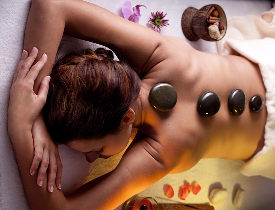 A Hot Stone Massage - working on your wellbeing in 2021